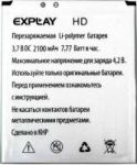 Explay (HD) 2400mAh Li-polymer (усиленная)